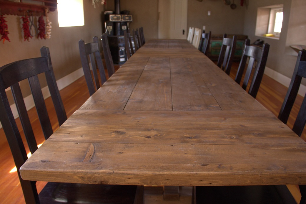 Gutierrez-Hubbell House Conference Table
