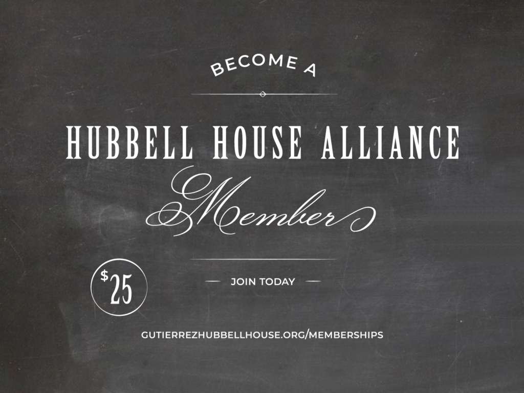 Become a Hubbell House Alliance Member; join today.